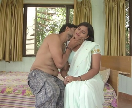 married indian couple romance